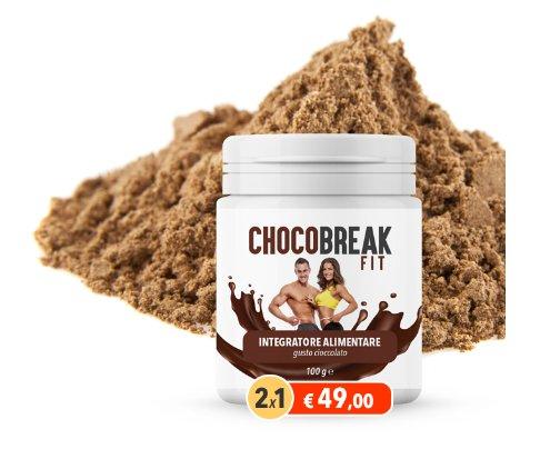 chocobreak fit integratore al cacao