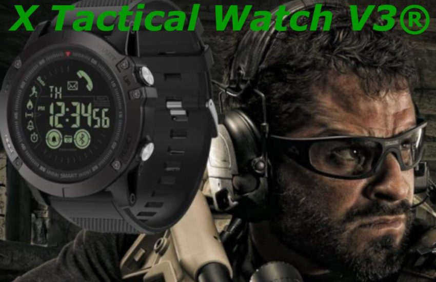 recensione x tactical watch v3