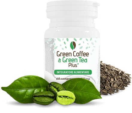 green coffee e green tea integratore dimagrante