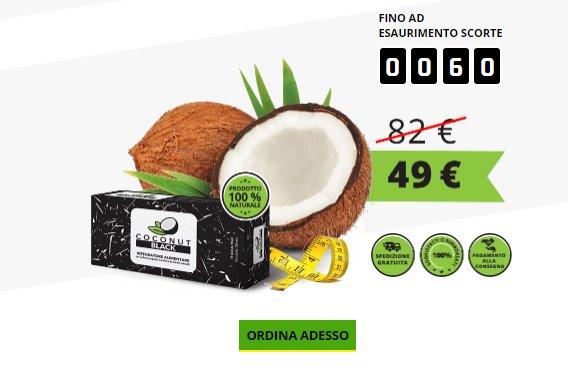 coconut black prezzo