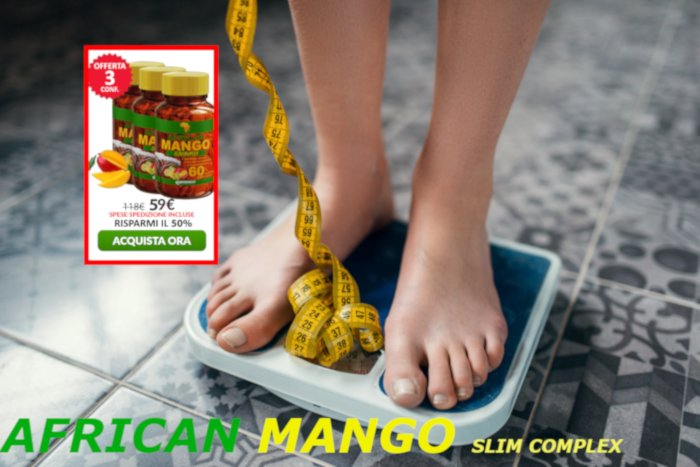 recensione african mango slim complex