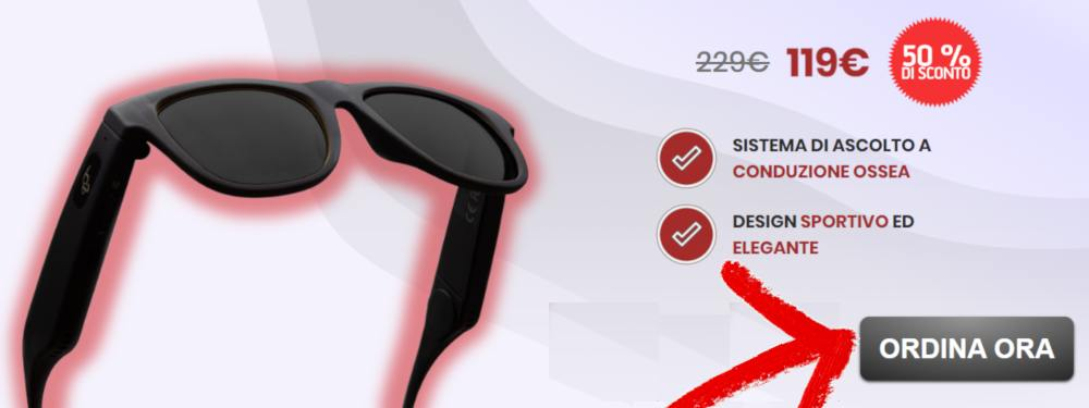 smart glasses prezzo