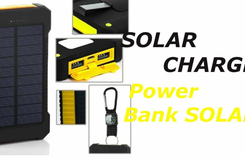 recensione solar charger power bank solare