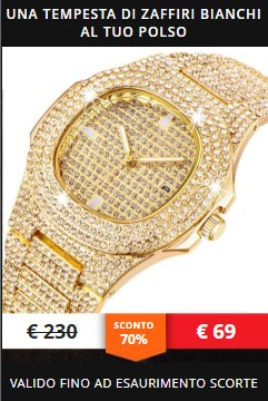 diamond watch prezzo