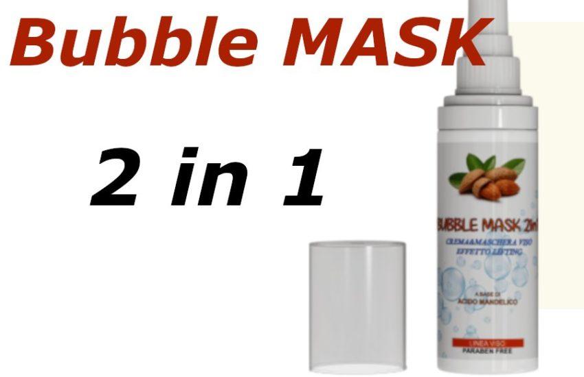 recensione bubble mask