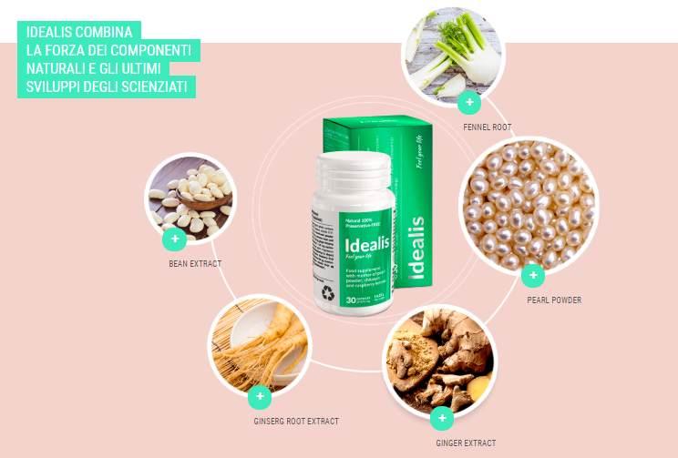 idealis ingredienti