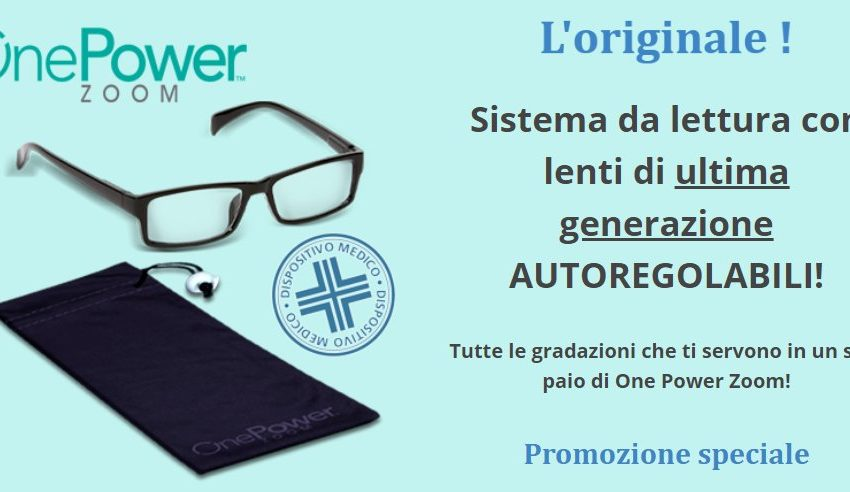 recensione one power zoom
