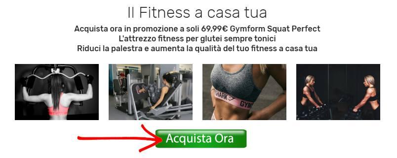 Gymform Squat Perfect prezzo