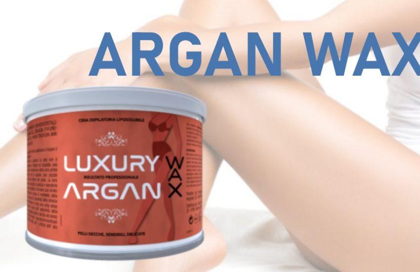 recensione argan wax
