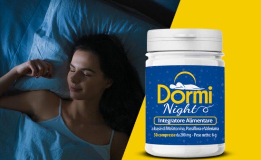 dormi night recensione